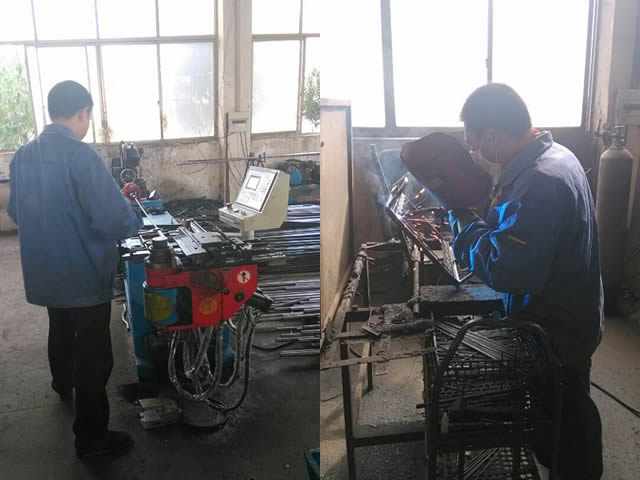 welding bending workshop